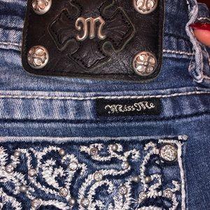 Miss me jean straight leg jeans 👖
